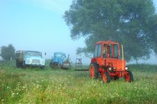 Free Tractor Stock Image - 6858721