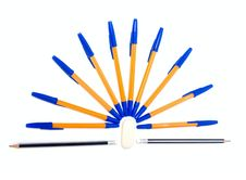 Free Pens And Pencils Stock Images - 6859094