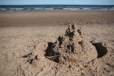 Free Sand Castle Stock Photo - 6859160