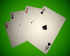 Poker 01 Royalty Free Stock Photography