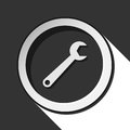 Free Icon - Spanner With Shadow Royalty Free Stock Photos - 68587758