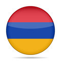Free Button With Flag Of Armenia Stock Images - 68587794