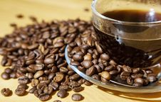 Free Coffee Beans On The Table Royalty Free Stock Photo - 68582445