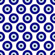 Free Seamless Illustration - Turkish Eyes Royalty Free Stock Image - 68587786