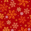 Free Seamless Wallpaper Tile Design Abstract Illustrati Stock Photography - 6865002