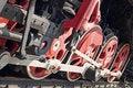 Free Steam Locomotive Wheels Royalty Free Stock Image - 6868896