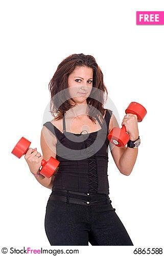 Free Body Exercise Royalty Free Stock Photos - 6865588