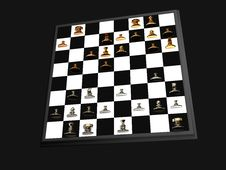 Free Chess Board Stock Photography - 6860072
