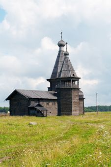 Old Wooden Church Of Ioann Zlatoust Royalty Free Stock Photo
