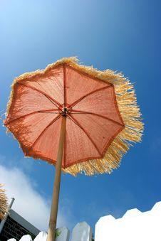 Free Orange Umbrella Stock Photo - 6860130