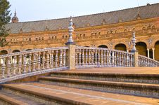 Free Monument In Seville Royalty Free Stock Photos - 6860288