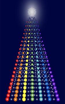 Free Contemporary Christmas Tree Stock Photo - 6860660