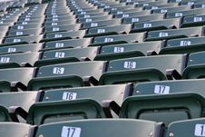 Free Stadium Seats Stock Photography - 6860852