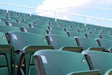 Free Stadium Seats Royalty Free Stock Images - 6860919