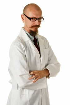 Free Portrait Of A Male Doctor Royalty Free Stock Photo - 6860955