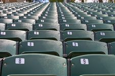 Free Stadium Seats Stock Photo - 6860980