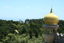 Free Historical Palace In Sintra Stock Photography - 6861052