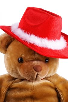 Free Santa Bear. Stock Image - 6861141