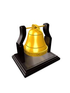 Free Golden Bell Stock Images - 6861204