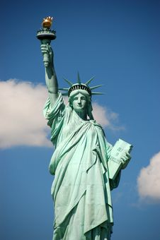 Free Statue Of Liberty Stock Photography - 6861642