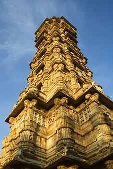 Vijay Stambha Or Victory Tower Stock Photos