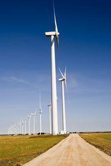 Free Wind Turbines Stock Images - 6862184