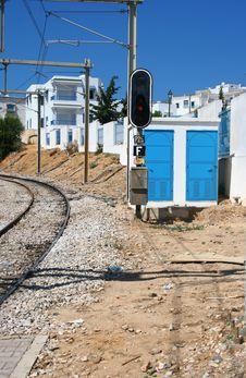 Free Tunis The Railway Royalty Free Stock Photos - 6862518