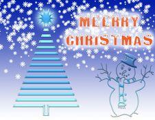 Free Christmas Card Stock Image - 6862551