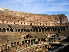 Free Inside Rome Colloseum Stock Photography - 6863062
