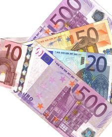 European Banknotes Royalty Free Stock Images