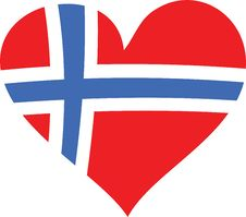 Free Norway Heart Royalty Free Stock Image - 6863486