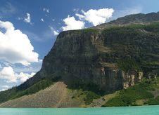 Free Mountain At Lake Louise Stock Photography - 6864052