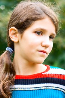 Free Portrait Teen Girl Outdoor Royalty Free Stock Photography - 6864187