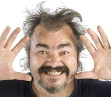 Free Portrait Of An Irascible Man Stock Images - 6864914