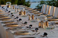 Free Table Arrangement Stock Photo - 6864990