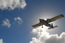 Free Screw Plane Royalty Free Stock Photo - 6865475