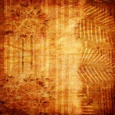 Aged Paper Texture Close Up Royalty Free Stock Photography