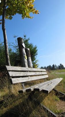 Bench For Rest Stock Photography