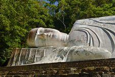 Free Lying Big Buddha Royalty Free Stock Image - 6866966