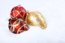 Free Some Christmas Balls Stock Photos - 6867963