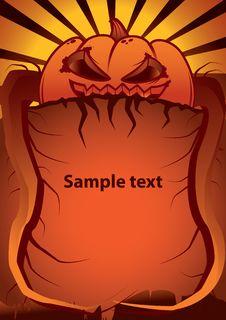 Free Pumpkin Royalty Free Stock Image - 6868006
