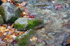Free Rocks At The Edge Of Rippling Waters Stock Photography - 6868102