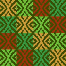 Free Seamless Christmas Pattern Royalty Free Stock Images - 6868519