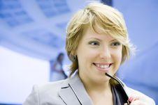 Free Businesswoman Stock Photography - 6869452