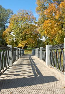Free Autumn Park Stock Photography - 6869572