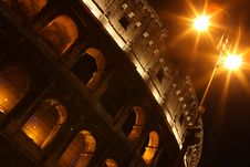 Free Colosseum At Night Stock Photos - 6869663