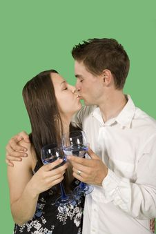 Free Couple Drinking Royalty Free Stock Images - 6869779