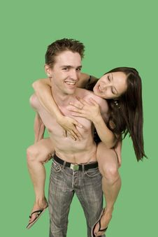 Free Happy Couple Royalty Free Stock Images - 6869849