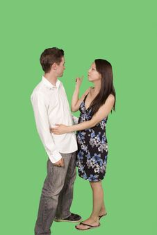 Free Happy Couple Royalty Free Stock Photography - 6869937