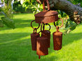 Free Beautiful Garden Bell Wind Chimes Stock Image - 6875811